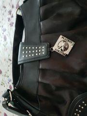 verk schwarze Playboy Tasche