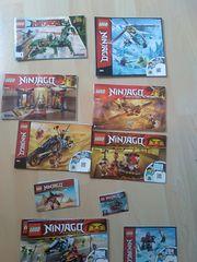 Lego Ninjago viele verschiedene Sets