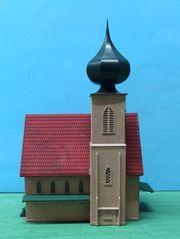 Eisenbahn H0 kleine Kirche mit