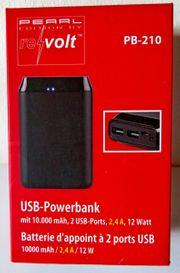 Neue Marken-POWERBANK mit 2 USB-Ports