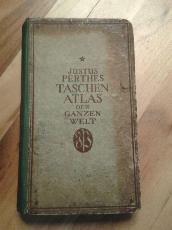Taschenatlas von Justus Perthes