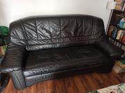 Verschenke Sofa Couch Schlafsofa Echtleder