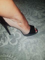 Meine getragene high heels
