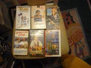 6 VIDEOCASSETTEN POP ROCK - VHS
