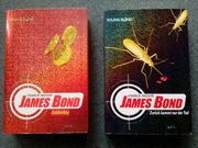2 Taschenbücher James Bond Reihe