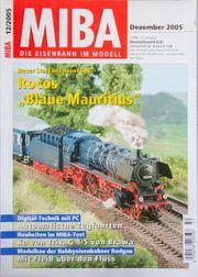 Miba-die Eisenbahn im Modell Dezember