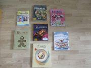 Diverse Koch- und Backbücher