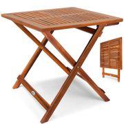 Klapptisch Akazie Beistelltisch Holztisch Gartentisch