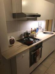 gepflegte Einbauküche inkl E-Geräte und