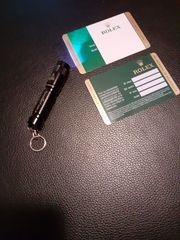 2x Rolex Warranty Card