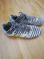 Adidas Fussballschuh weiß schwarz gr