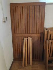 Gartentisch 80x150 gebraucht