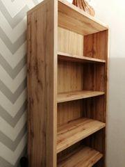 regal Bücherregal Standregal Holz Regal