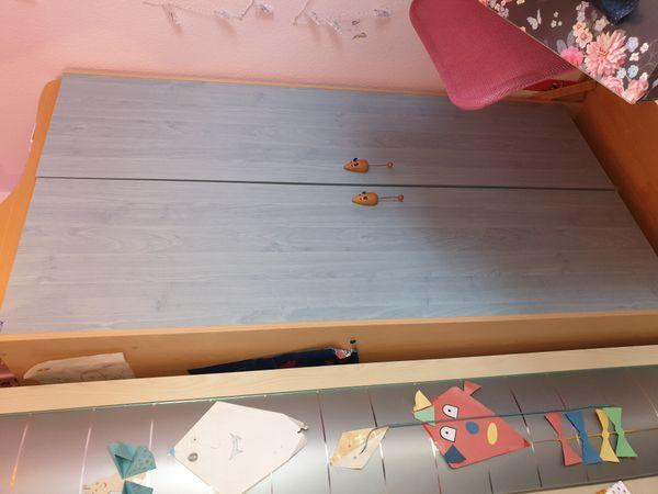 Schrank Wickel- kommode Babyzimmer Kinderzimmer