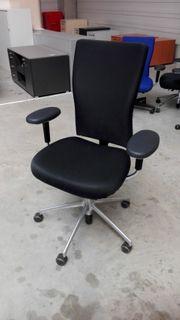vitra Bürodrehstuhl t-chair schwarz Drehstuhl Büro