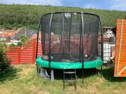 Trampolin Exit all in one