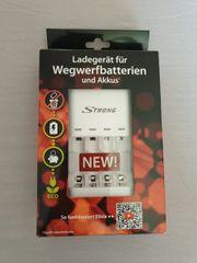 Ladegerät für Wegwerfbatterien
