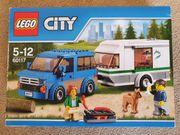 LEGO 60117 City Van Wohnwagen
