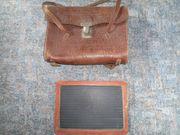Antike Ledertaschen Aktentaschen Marke Schultaschen