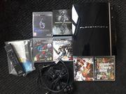 Playstation 3 mit Spielen