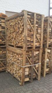 Brennholz Kamminholz Buche Kammergetrocknet