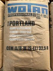 Zement Wotan 25 Kg Sack
