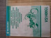 Suzuki VS1400 Intruder Handbuch
