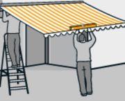 Markisen Montage Sonnenschutz Balkon Terrasse