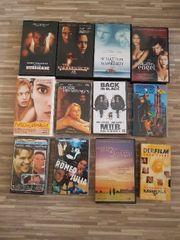 12 VHS Video Kassetten zu