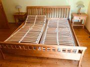 Doppelbett Vollholz
