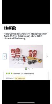 H R Deep Gewindefahrwerk Audi