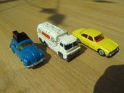 Husky - 3 kleine alte Modellautos