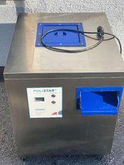 Besteck - Poliermaschine