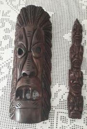 Wanddeko Hand Schnitzerei aus Brasilien