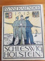 Kunst Kalender 1915 Schleswig Holstein