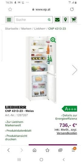 Kühlschrank Nagel neu