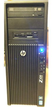 HP Z420 WORKSTATION XEON