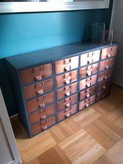 Design Sideboard Kupfer Stahl Kommode