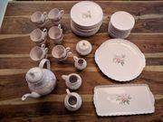 HUTSCHENREUTHER 1814 PORCELAINE ROSE Kaffee