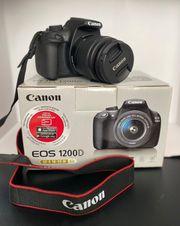 Canon EOS 1200D Kamera Neuwertig