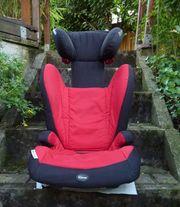 Römer Kindersitz in rot schwarz