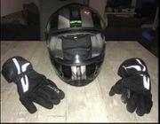 Motorradhelm Handschuhe