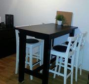 Bartisch 4 Stühle