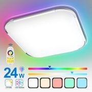 24W RGB LED Deckenleuchte Deckenlampe