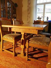 Esstisch mit 6 Stühlen - Eiche