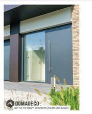 LIM-Tür mit linkem Seitenlicht Aluminiumtür