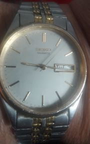 Seiko Quartz Herren Armbanduhr