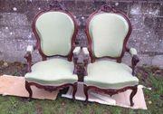 Sessel im Louis XV-Stil