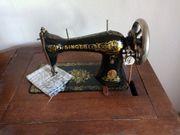 Antike Singernähmaschine 1900