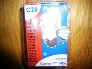 Druckerpatronen C28 cyan Tintenpatrone ersetzt
